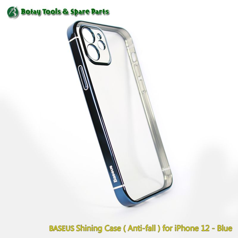 BASEUS Shining Case ( Anti-fall ) for iPhone 12 - Blue