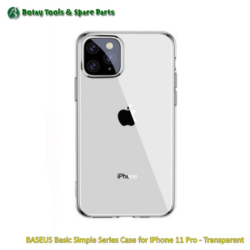 BASEUS Basic Simple Series Case for iPhone 11 Pro - Transparent