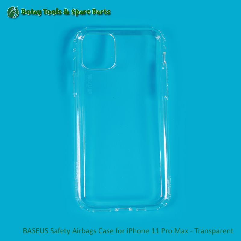 BASEUS Safety Airbags Case for iPhone 11 Pro Max - Transparent