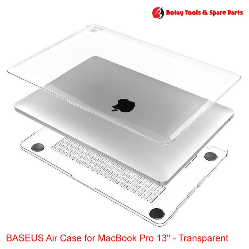 "BASEUS Air Case for MacBook Pro 13"" - Transparent 2"