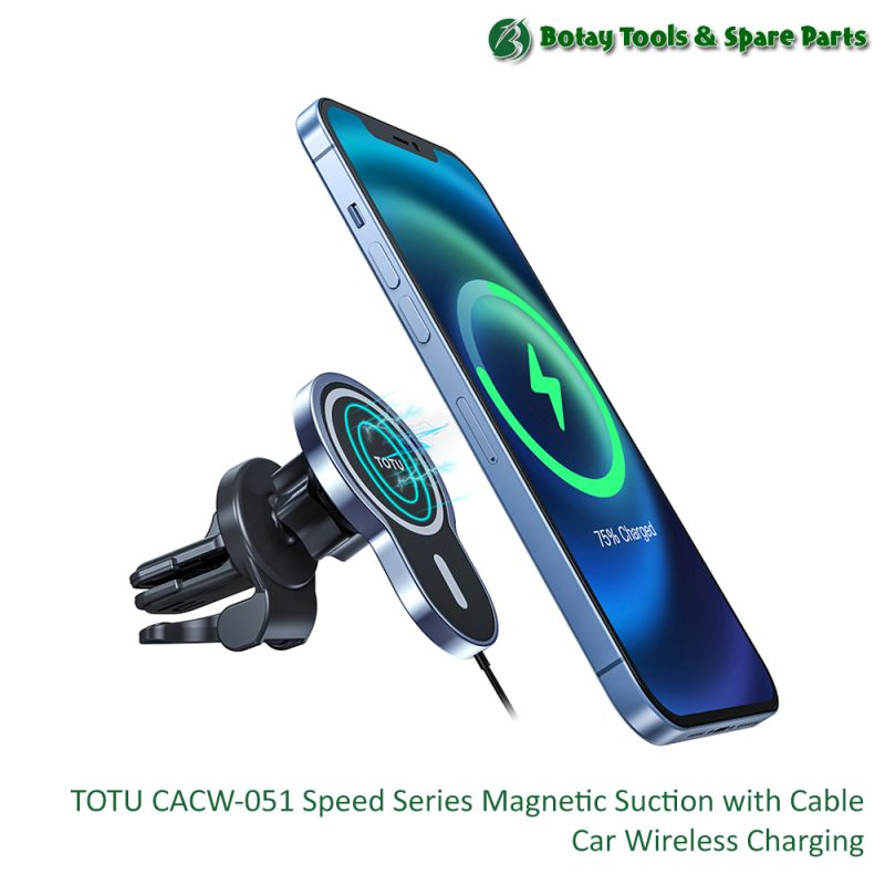 TOTU CACW-051 Speed Series Magnetic Suction with Cable Car Wireless Charging