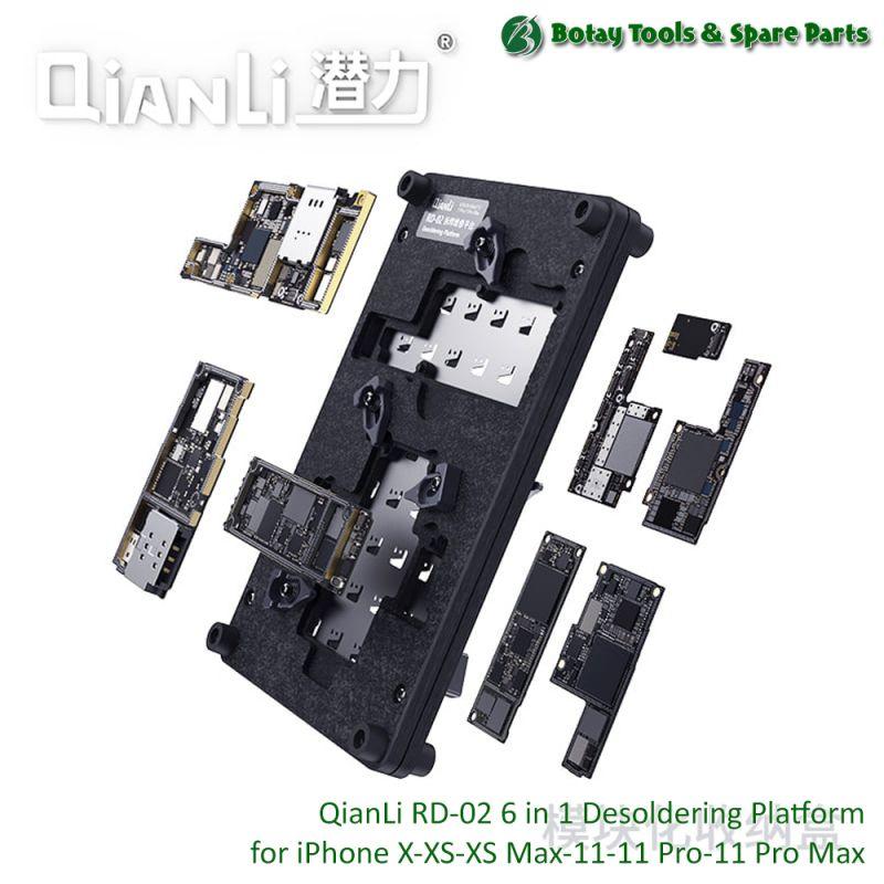 QianLi RD-02 ( 6-in-1 ) Desoldering Platform for iPhone X, XS, XS Max, 11, 11 Pro, 11 Pro Max