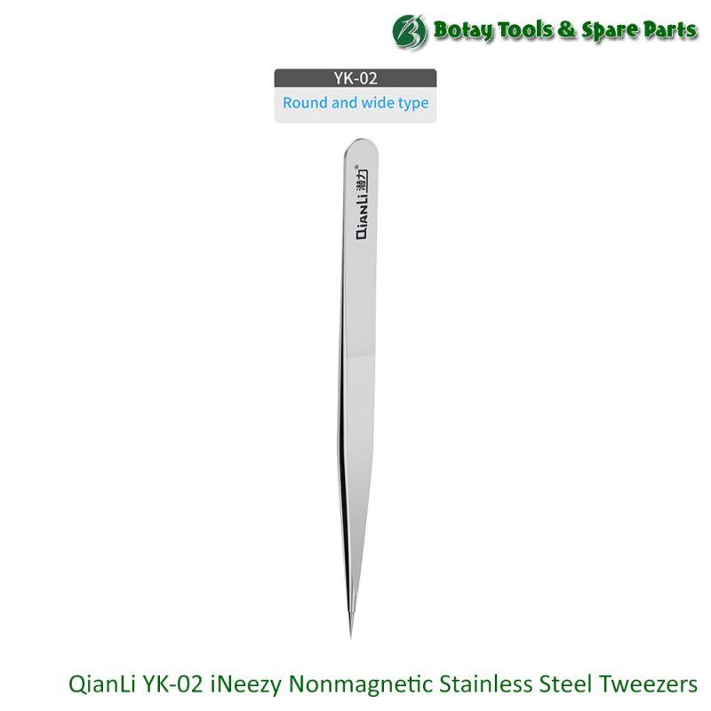 QianLi YK-02 iNeezy Nonmagnetic Stainless Steel Tweezers