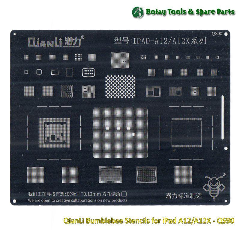 QianLi Bumblebee Stencils for iPad A12/A12X - QS90