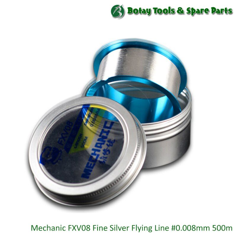 Mechanic FXV08 Fine Silver Flying Line #0.008mm #500m