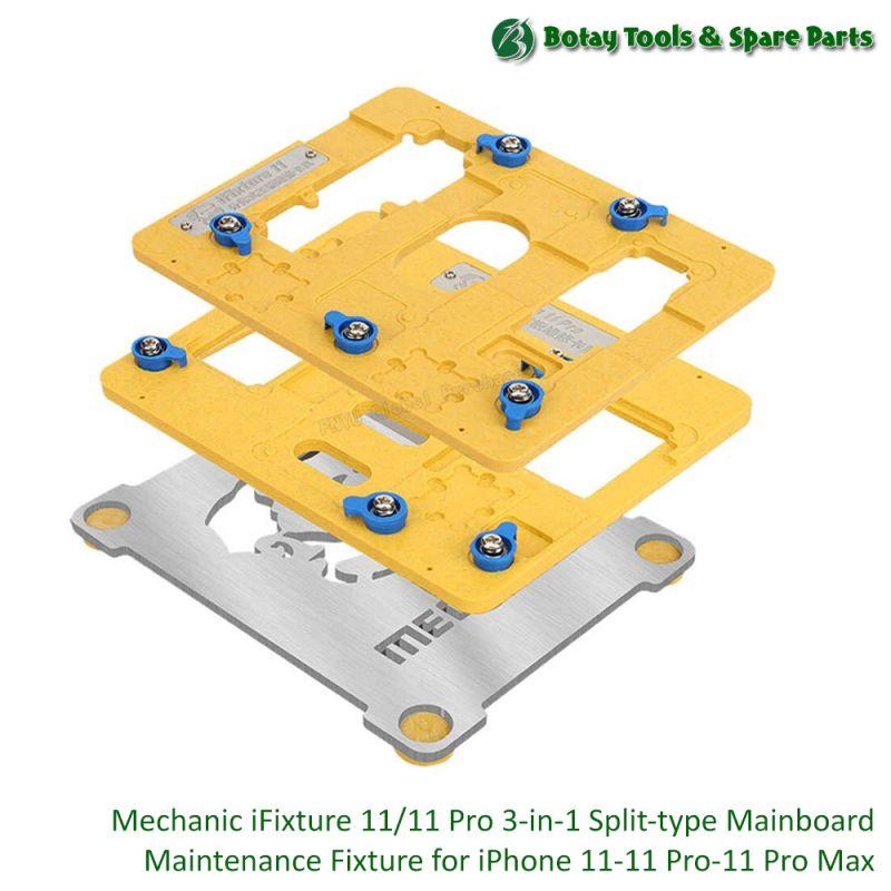 Mechanic iFixture 11/11 Pro ( 3-in-1 ) Split-type Mainboard Maintenance Fixture for iPhone 11, 11 Pro, 11 Pro Max