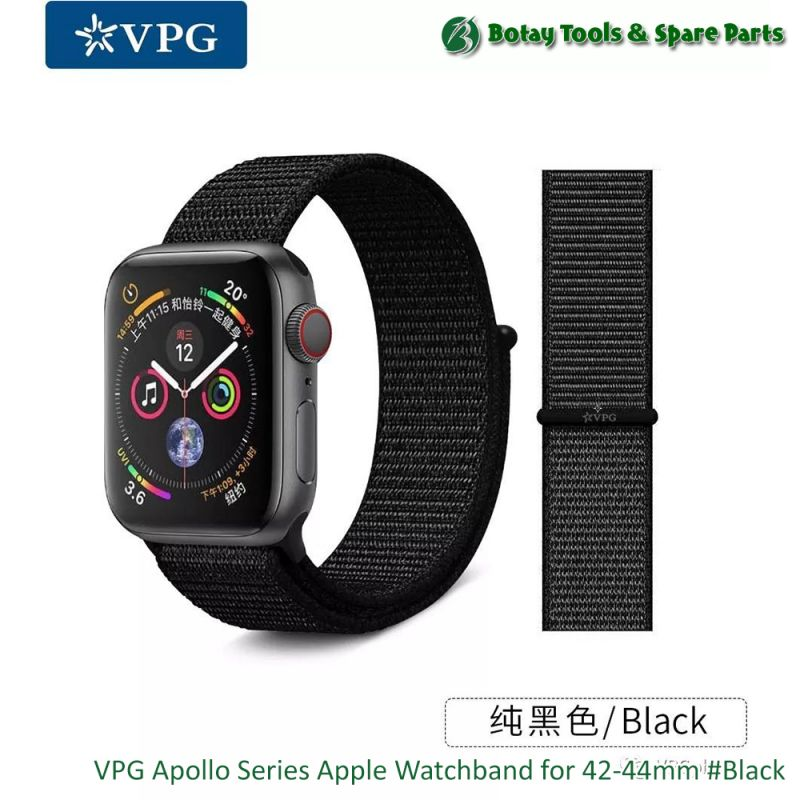 VPG Apollo Series Apple Watchband for 42-44mm #Black