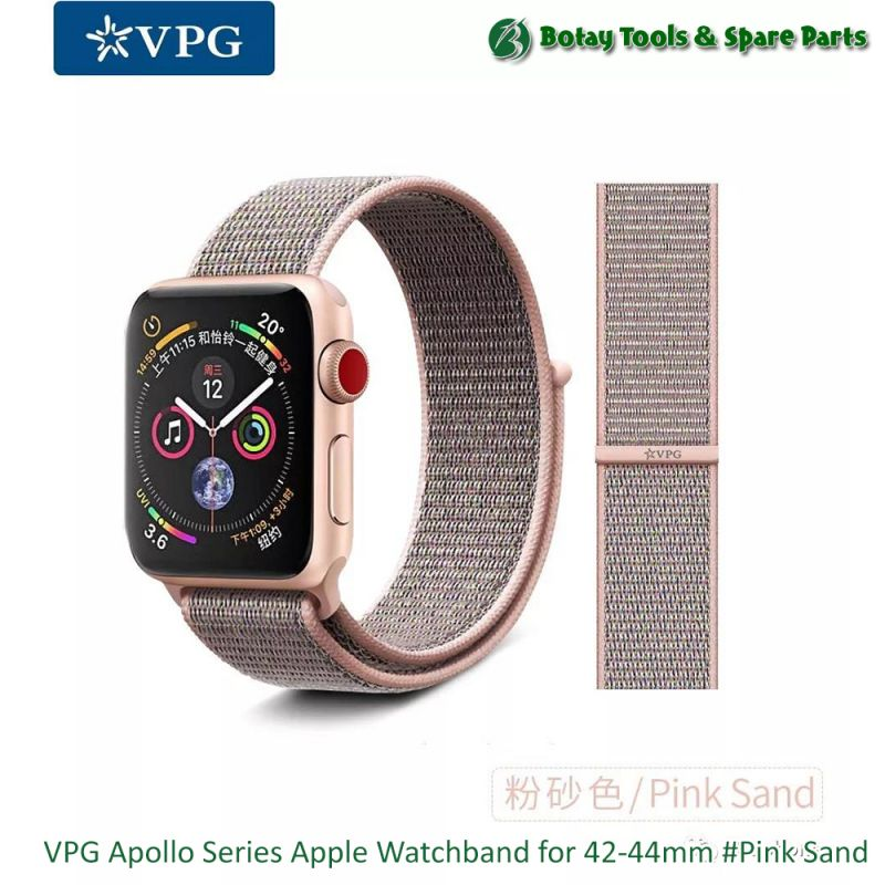 VPG Apollo Series Apple Watchband for 42-44mm #Pink Sand