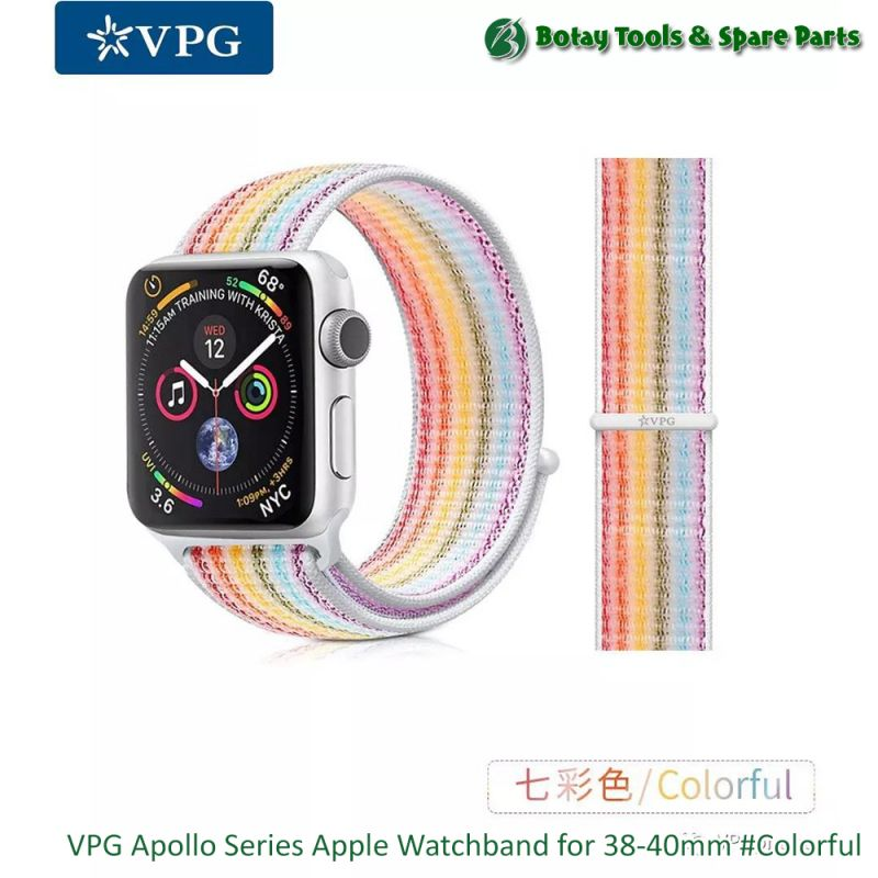 VPG Apollo Series Apple Watchband for 38-40mm #Colorful
