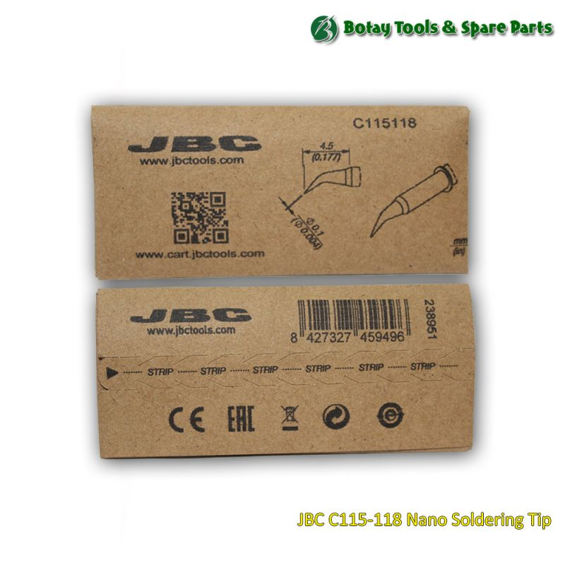 JBC C115-118 Nano Soldering Tip