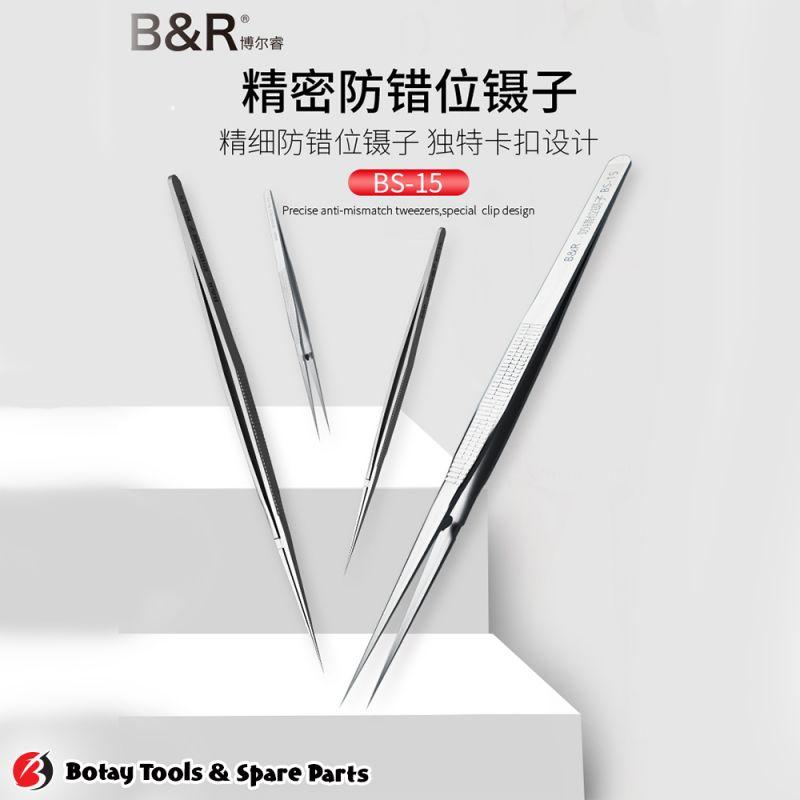 B&R BS-15 Fine Dislocation Tweezers