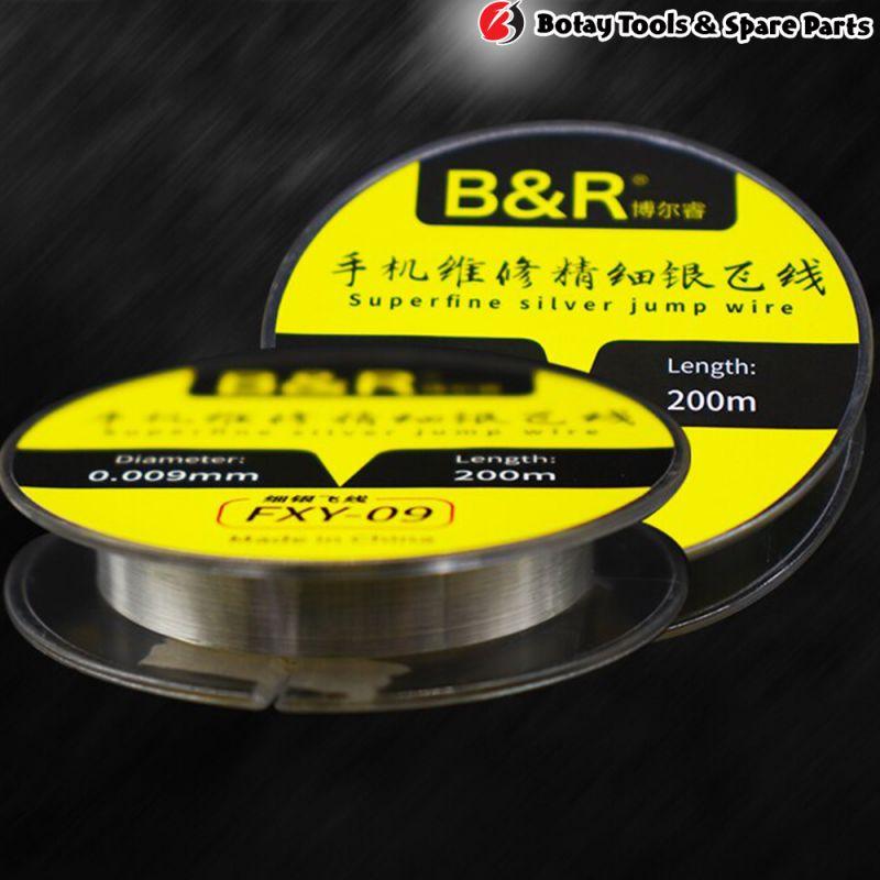 B&R FXY-09 Superfine Silver Jump Wire (0.009mm, 200m)