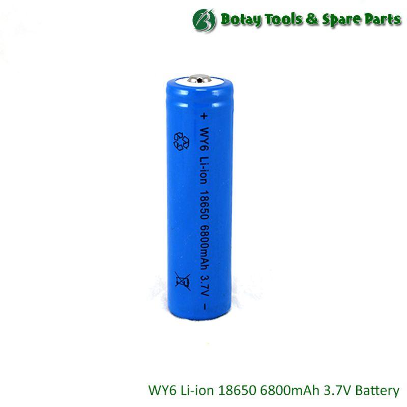 WY6 Li-ion 18650 6800mAh 3.7V Battery