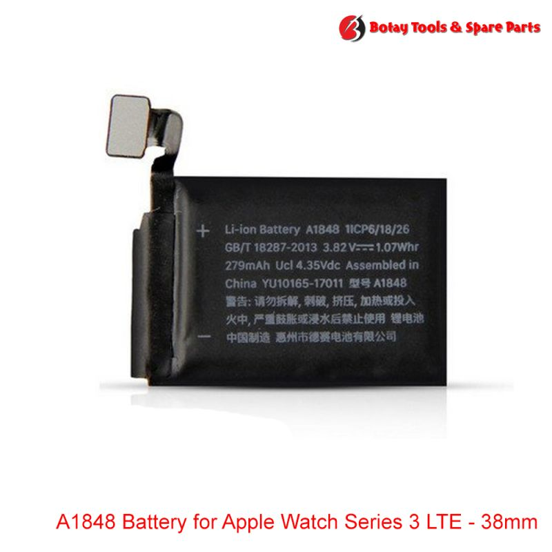 A1848 Battery for Apple Watch Series 3 LTE - 38mm
