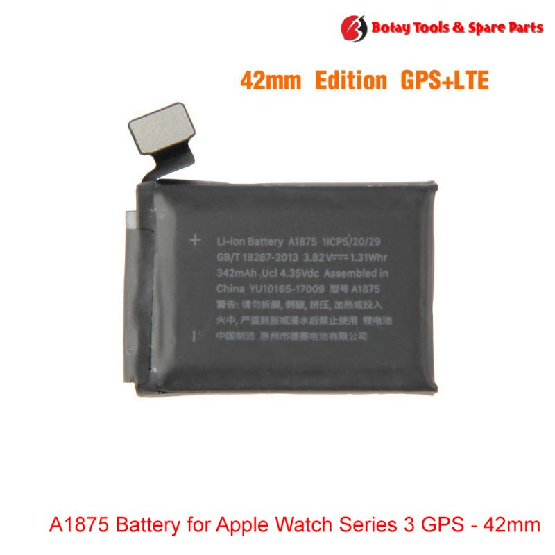 A1875 Battery for Apple Watch Series 3 GPS - 42mm