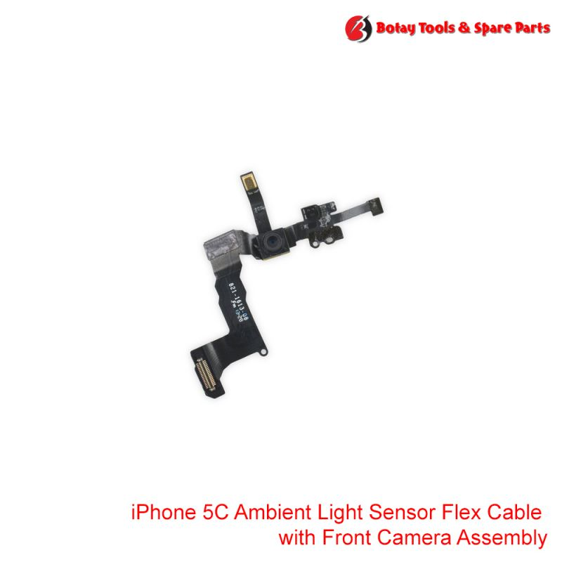 iPhone 5C Ambient Light Sensor Flex Cable with Front Camera Assembly