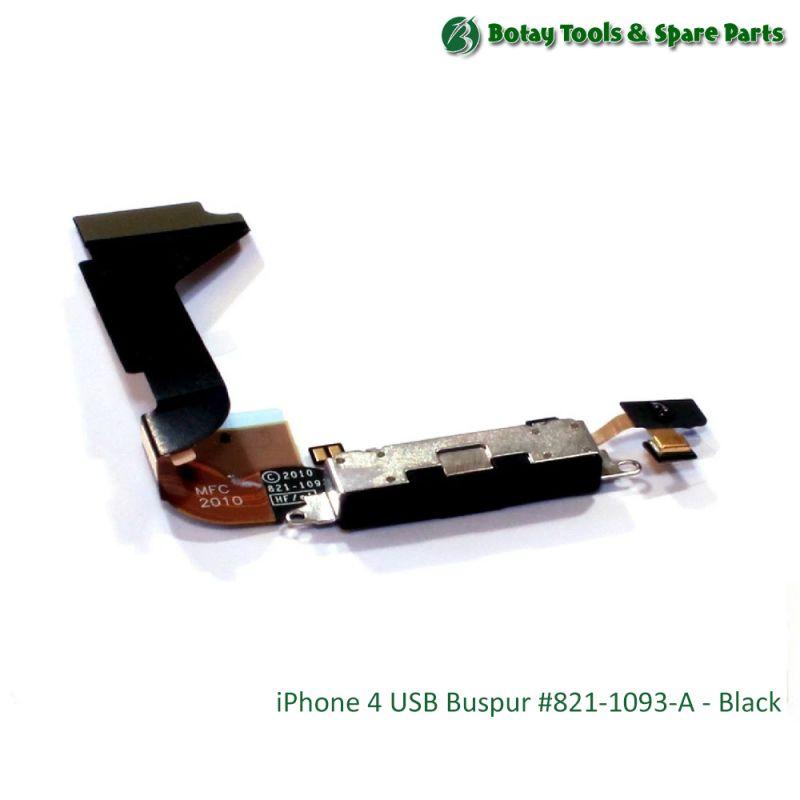 iPhone 4 USB Buspur #821-1093-A - Black