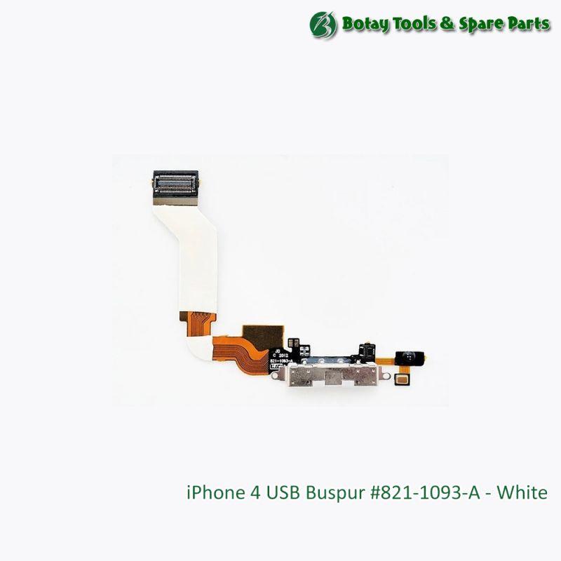 iPhone 4 USB Buspur #821-1093-A - White