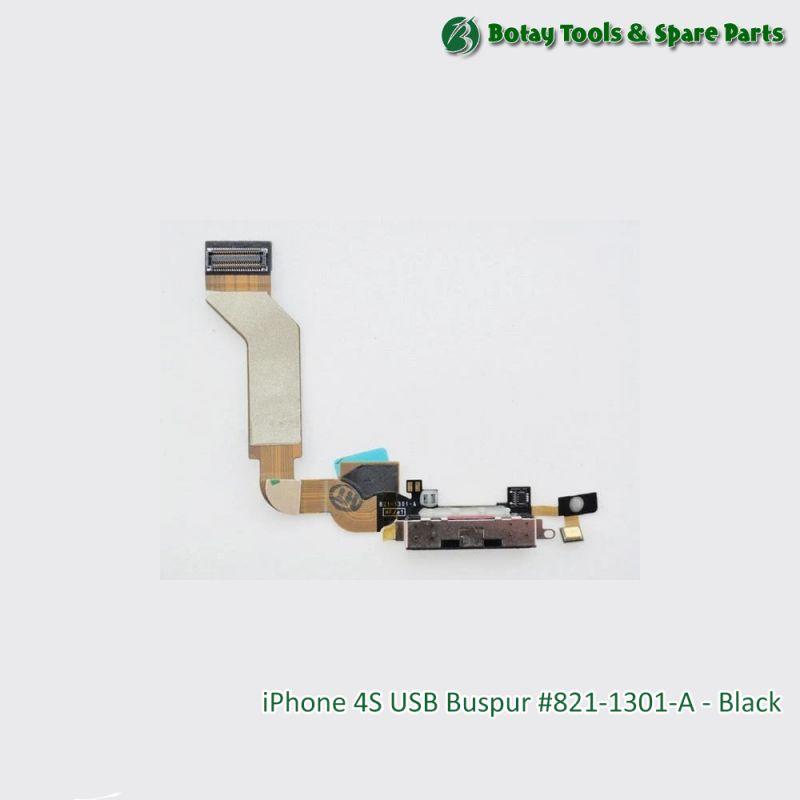 iPhone 4S USB Buspur #821-1301-A - Black