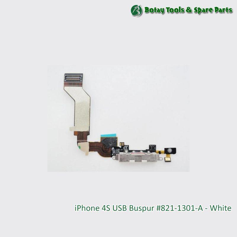 iPhone 4S USB Buspur #821-1301-A - White