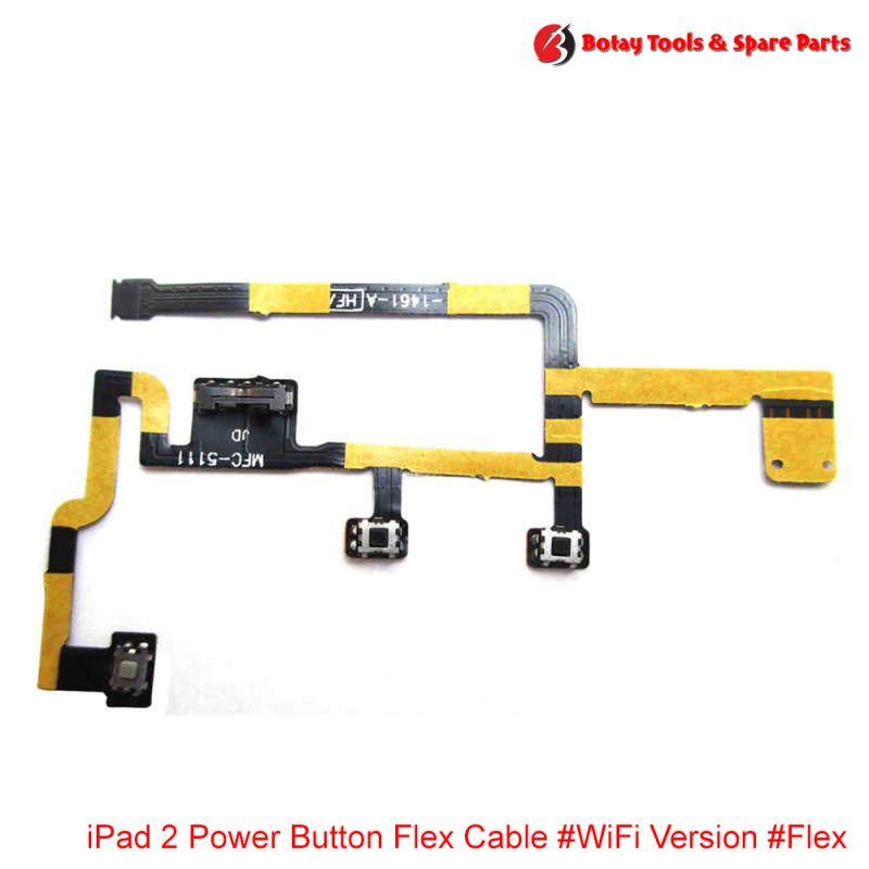 iPad 2 Power Button Flex Cable #WiFi Version #Flex #821-1461-A