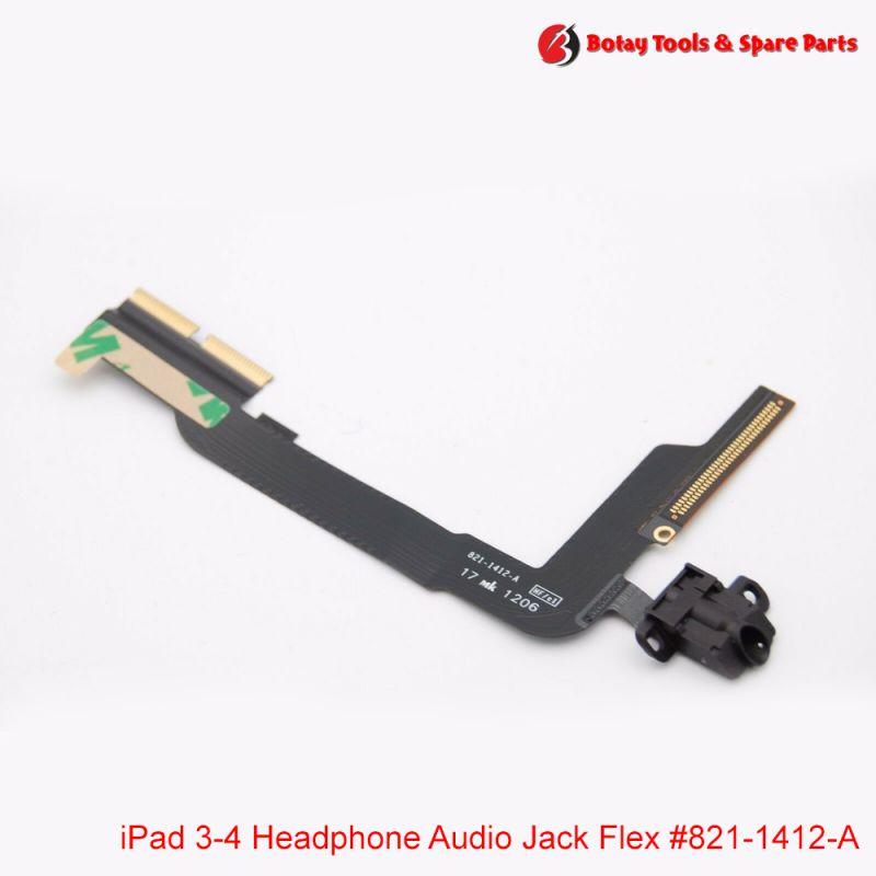 iPad 3- iPad 4 - Audio Headphone Jack Flex Cable #821-1412-A