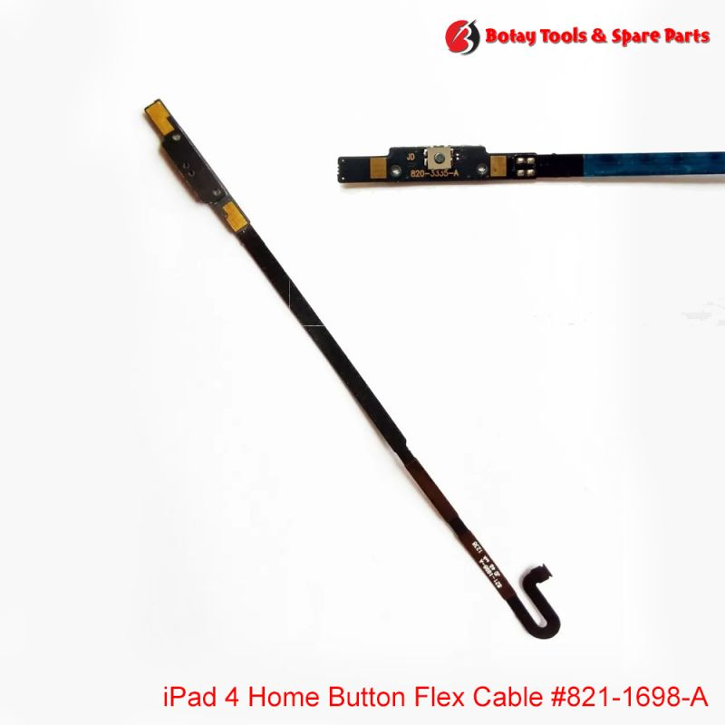 iPad 4 Home Button Flex Cable #821-1698-A