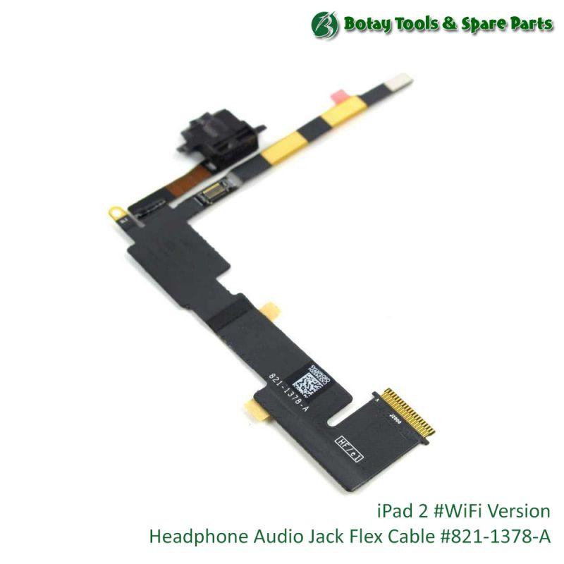iPad 2 #WiFi Version - Audio Headphone Jack Flex Cable #821-1378-A