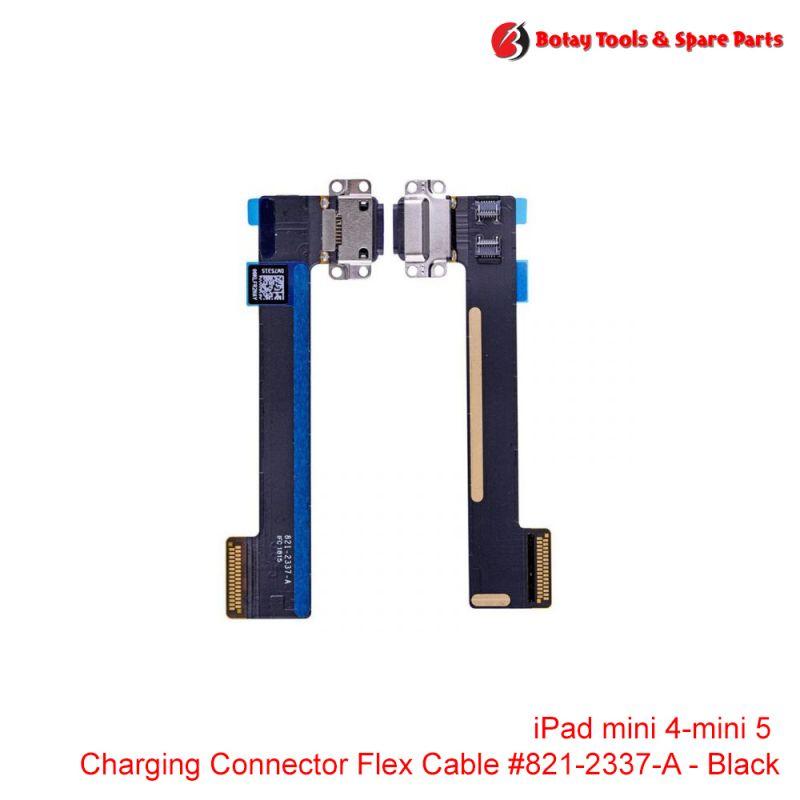 iPad mini 4- iPad mini 5 - Charging Dock Connector Flex Cable #821-2337-A - Black