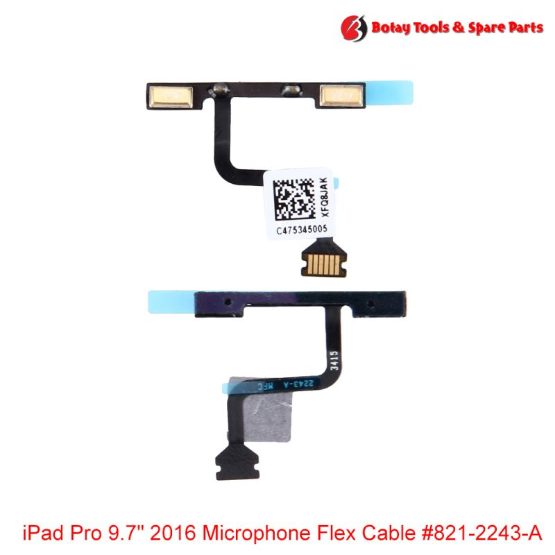 "iPad Pro 9.7"" 2016 Microphone Flex Cable #821-2243-A"