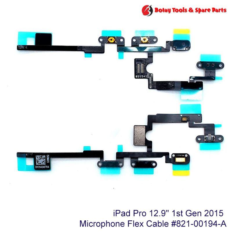 """iPad Pro 12.9"""" 1st Gen 2015 Power & Volume Button Flex Cable #821-00020-A"""
