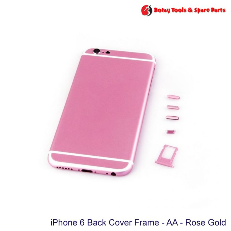 iPhone 6 Back Cover Frame Housing - AA - Rose Gold