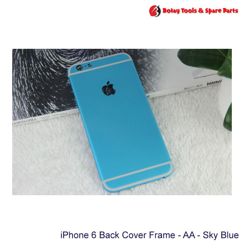 iPhone 6 Back Cover Frame Housing - AA - Sky Blue