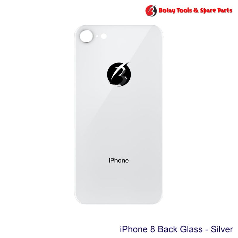 iPhone 8 Back Glass - Silver