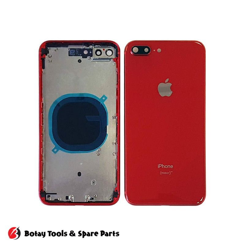 iPhone 8 Plus Back Cover Frame - Original - RED