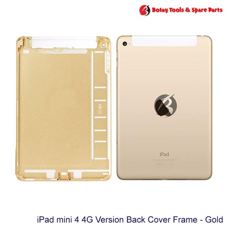 iPad mini 4 #4G Version Back Cover Frame Housing - Gold