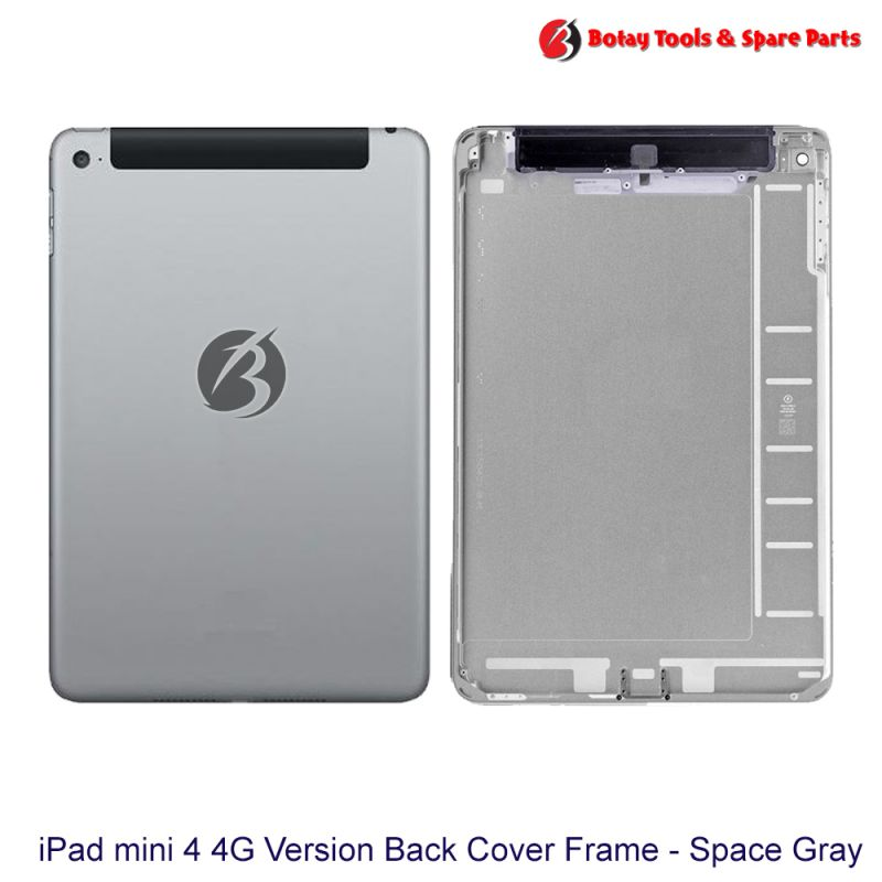 iPad mini 4 #4G Version Back Cover Frame Housing - Space Gray