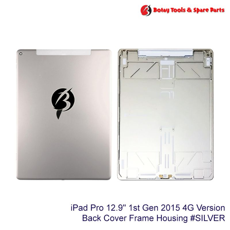 """iPad Pro 12.9"""" 1st Gen 2015 #4G Version Back Cover Frame Housing #SILVER"""