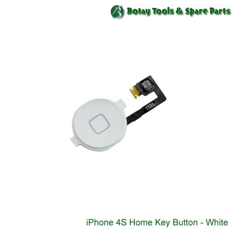 iPhone 4S Home Key Button - White