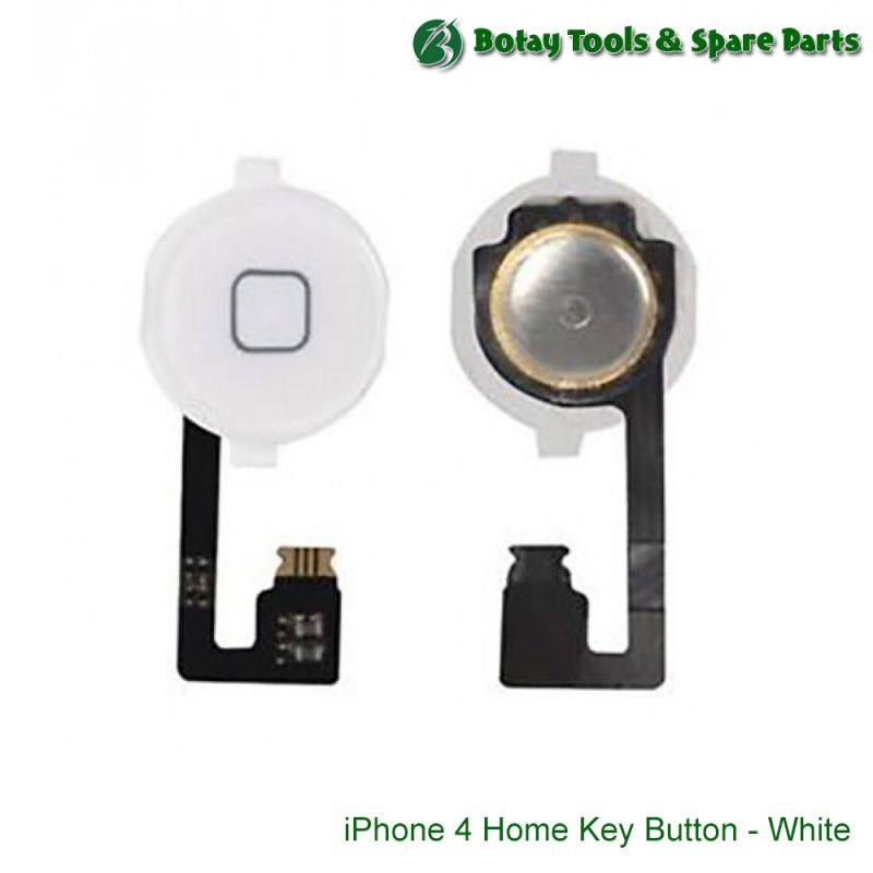 iPhone 4 Home Key Button - White