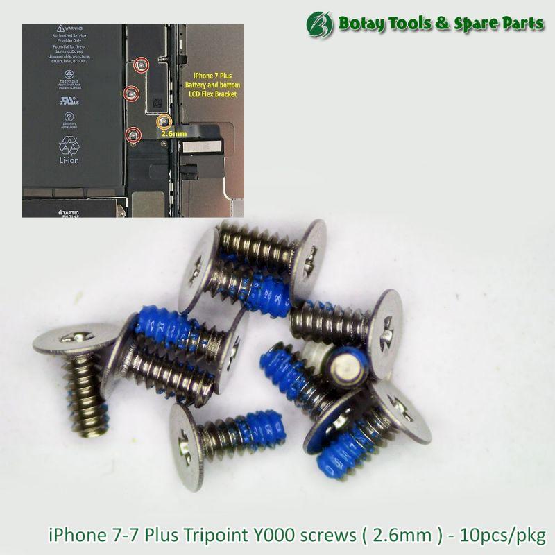 iPhone 7-7 Plus Tripoint Y000 screws ( 2.6mm ) - 10pcs/pkg
