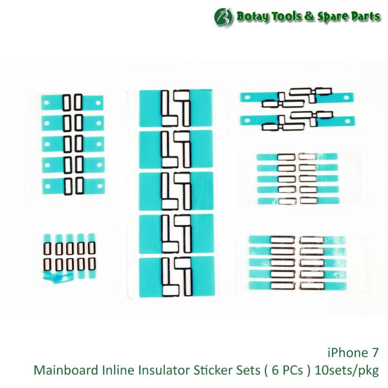 iPhone 7 Mainboard Inline Insulator Foam Sticker Set ( 6 items ) 10sets/pkg