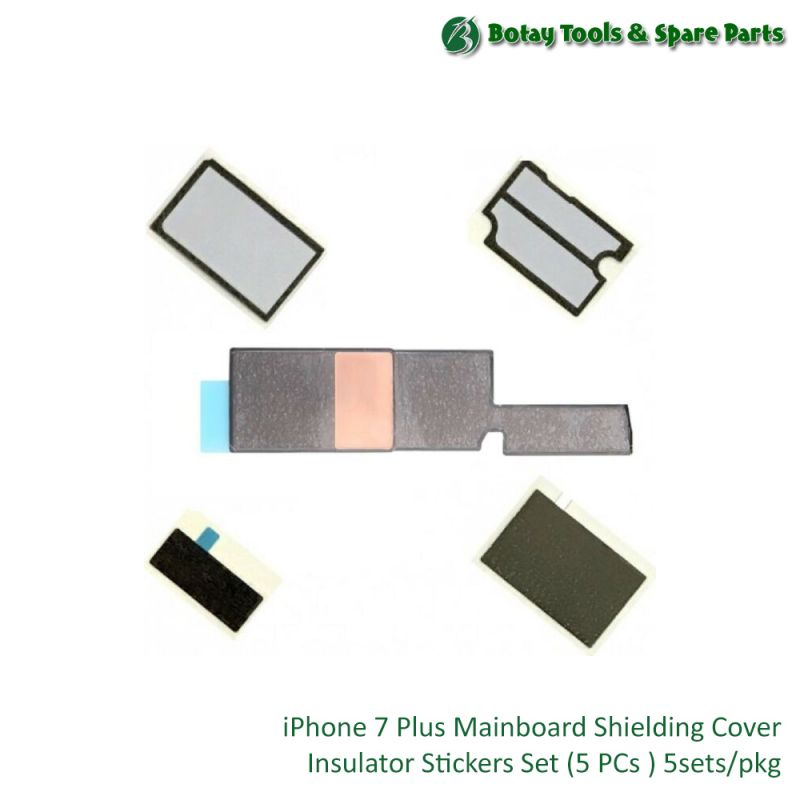 iPhone 7 Plus Mainboard Shielding Cover Insulator Stickers Set (5 items) 5sets/pkg
