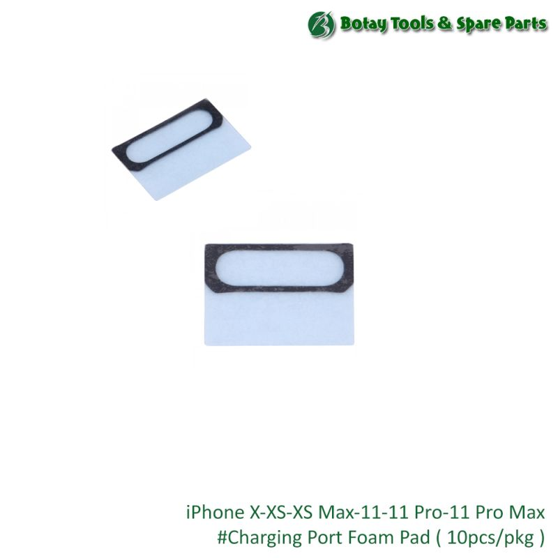 iPhone X-XS-XS Max-11-11 Pro-11 Pro Max #Charging Port Foam Pad ( 10pcs/pkg )