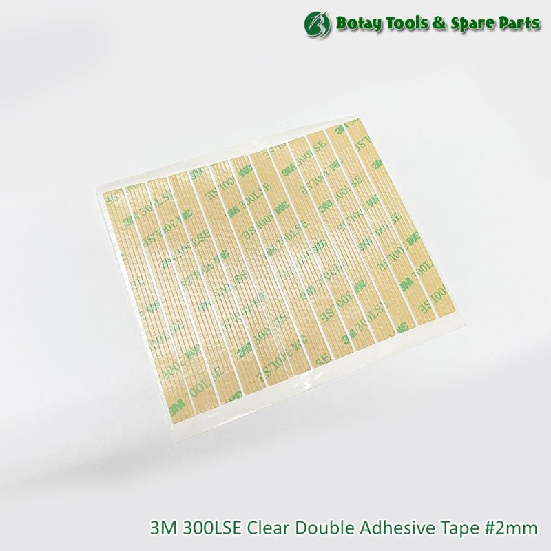 3M 300LSE Clear Double Adhesive Tape #2mm