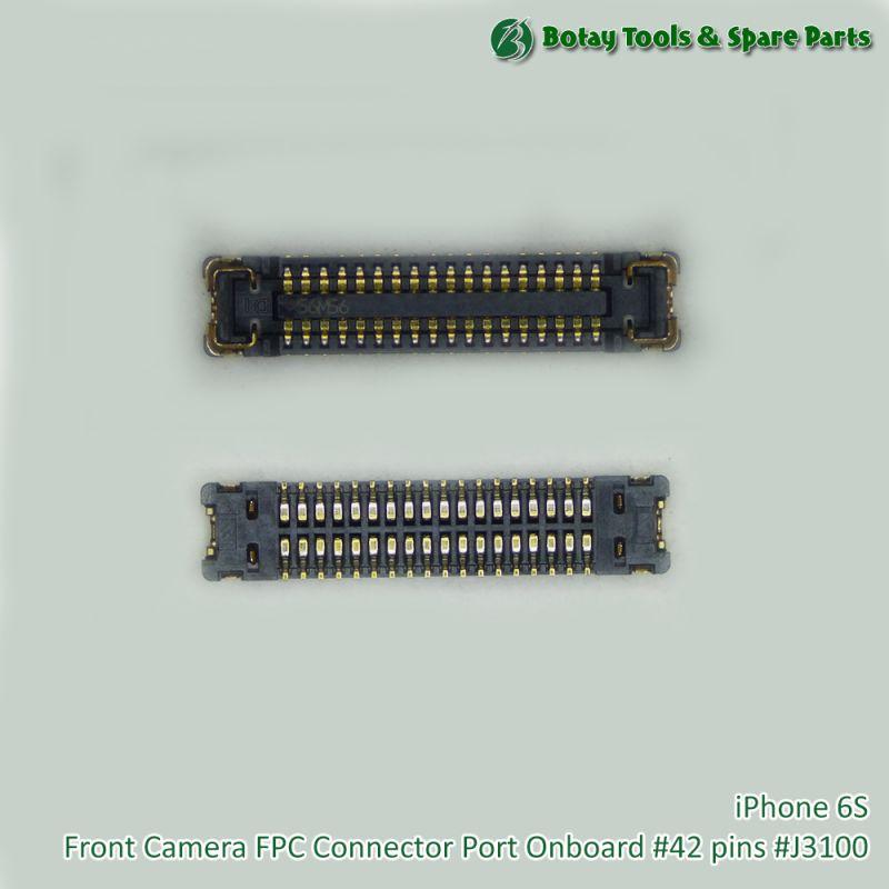 iPhone 6S Front Camera FPC Connector Port Onboard #42 pins #J3100 #AA20L-S036VA1