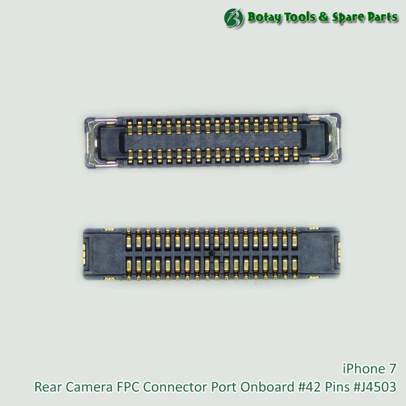 iPhone 7 Rear Camera FPC Connector Port Onboard #42 Pins #J4503