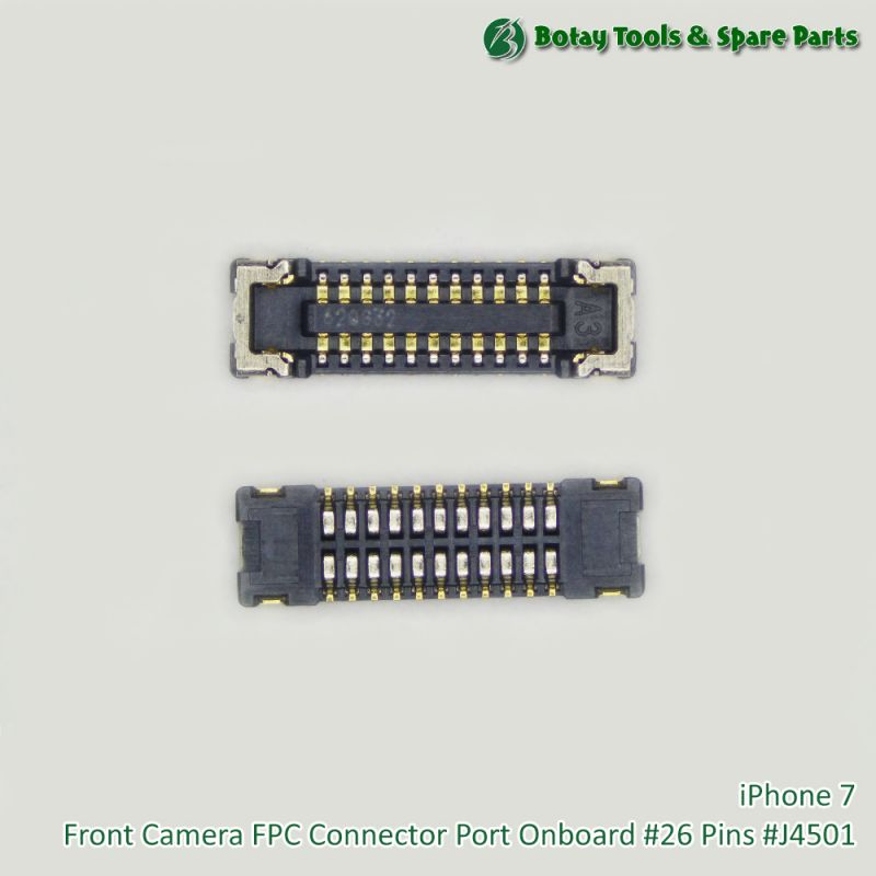 iPhone 7 Front Camera FPC Connector Port Onboard #26 Pins #J4501