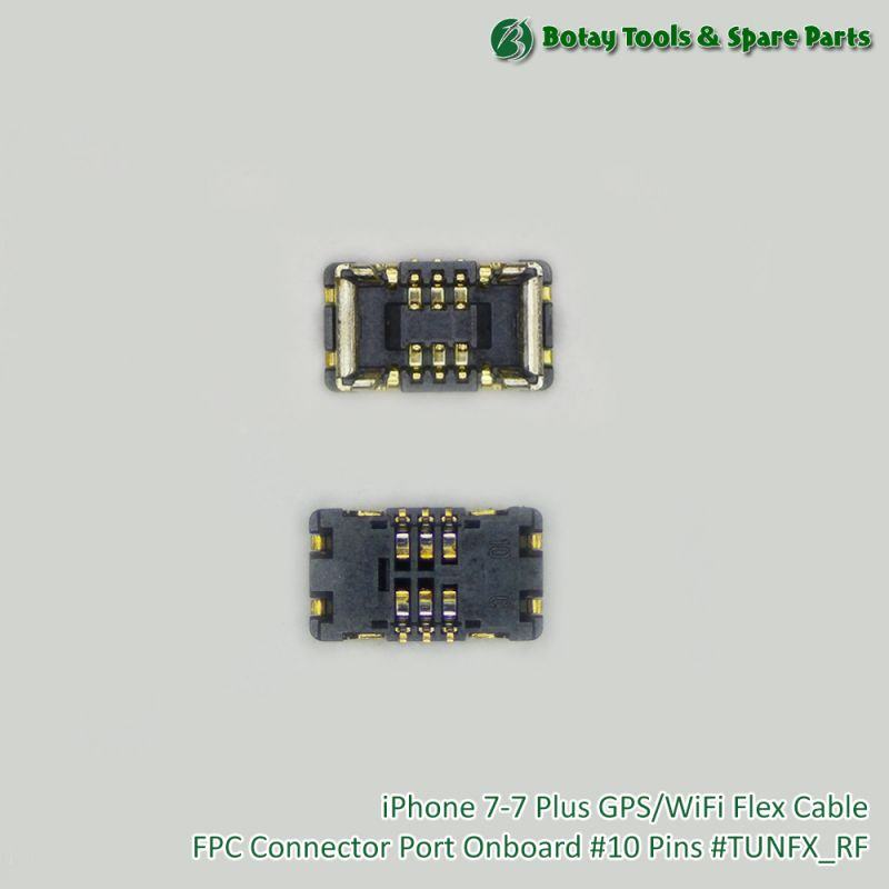 iPhone 7-7 Plus GPS/WiFi Flex Cable FPC Connector Port Onboard #10 Pins #TUNFX_RF