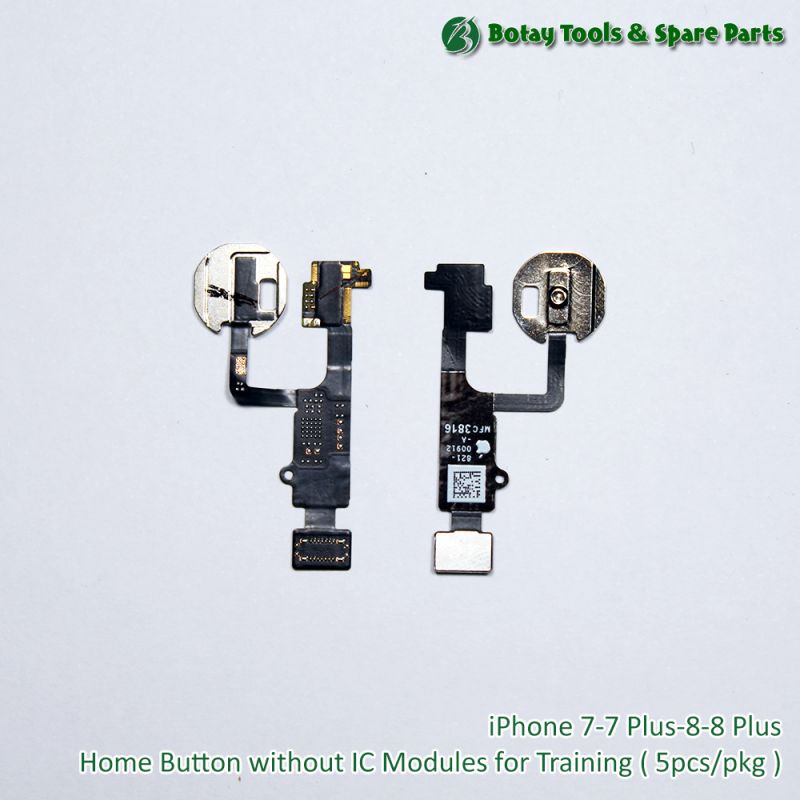 iPhone 7-7 Plus-8-8 Plus Home Button without IC Modules for Training ( 5pcs/pkg )